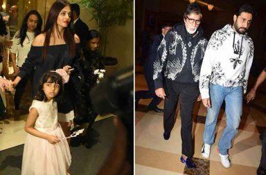 Aishwarya and Abhishek Bachchan celebrate Aaradhya's birthday