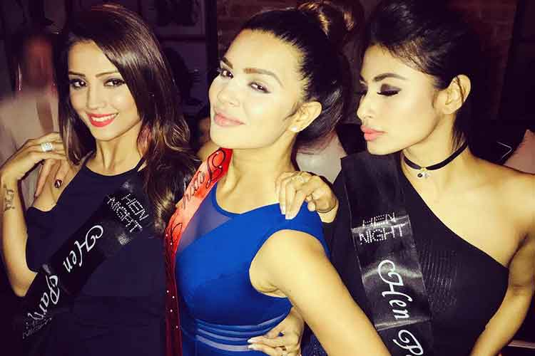 Inside pics from Aashka Goradia's bachelorette party