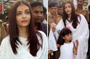 Aishwarya Rai visits Siddhivinayak on birthday