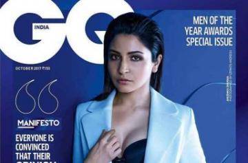 Anushka Sharma magazine shoot pics