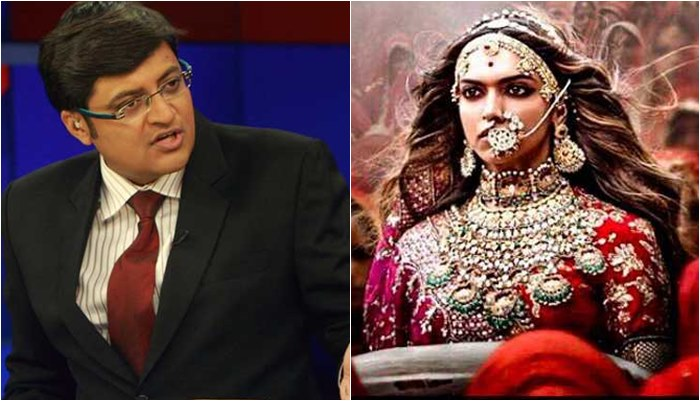 'Greatest tribute to Rajput Pride': Arnab Goswami, Rajat Sharma back Padmavati