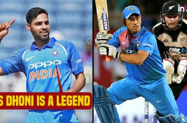 Bhuvneshwar Kumar shuts up critics: MS Dhoni is a legend, team not worried about his form