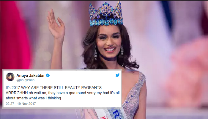 'Miss World is outdated', says Sofia Hayat as Manushi Chhillar wins title