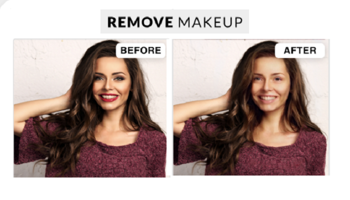 "A sexist app that ""exposes"" women wearing makeup has started an online war"