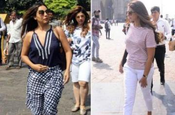 Gauri Khan and other celebs leave for Alibaug to celebrate Shah Rukh Khan's birthday