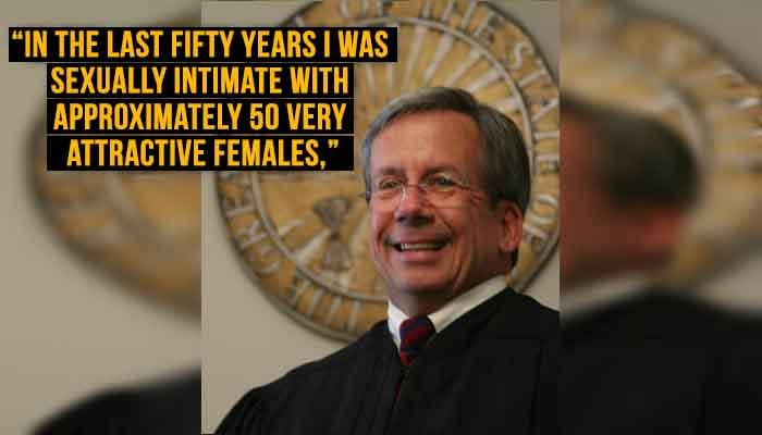 US judge denounced for bragging about sex life to downplay the #MeToo campaign