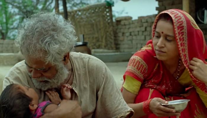 Sanjay Mishra, Tillotama Shome in Kadvi Hawa