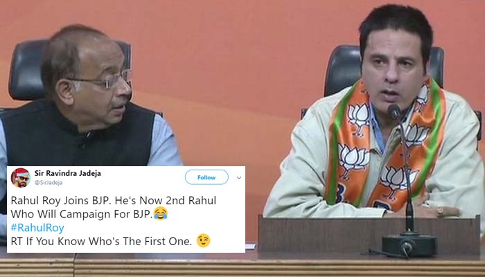 'Aashiqui' actor Rahul Roy joins BJP, Twitter isn't exactly impressed
