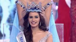 17 years after Priyanka Chopra won the title, India's Manushi Chillar crowned Miss World 2017