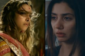 Deepika Padukone in Padmavati, Mahira Khan in Verna | Photo created for InUth.com