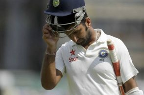 Cheteshwar Pujara misses chance to break 140-year-old record on