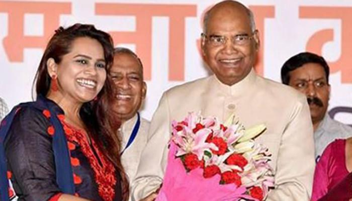 Heres Why President Ram Nath Kovinds Air Hostess -4787