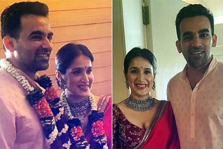 Sagarika Ghatge-Zaheer Khan weddingpics