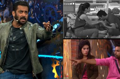 Salman Khan, Puneesh Sharna, Bandagi Kalra, Bigg Boss 11 | Photo created for InUth.com