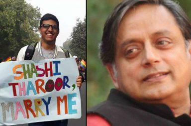 Shashi Throor, Delhi Pride Parade | Photo created for InUth.com