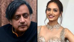 Manushi Chhillar has the most chilled out retort to Shashi Tharoor's controversial tweet on her