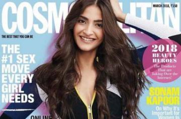 Sonam Kapoor magazine shoot pics