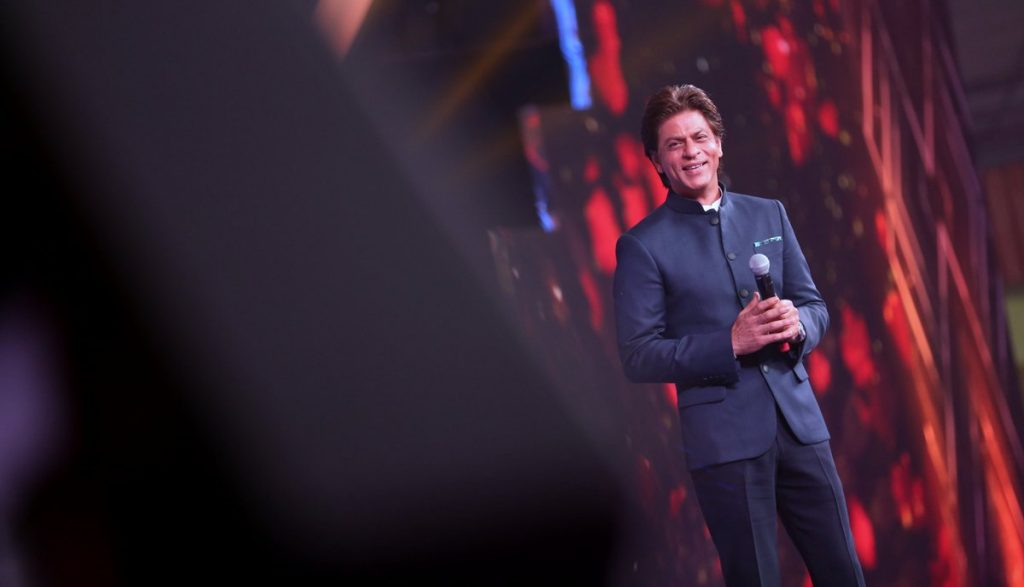 Shah Rukh Khan at IFFI, Goa (Courtesy: Twitter/@IFFIGoa)