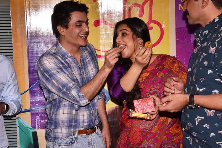 Tumhari Sulu success party