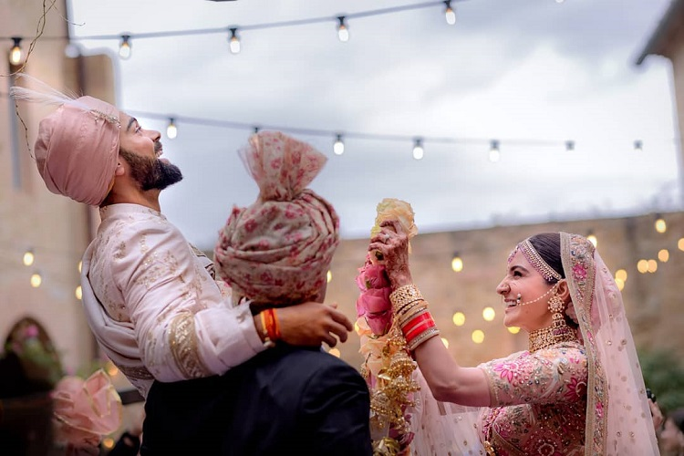 Virat Kohli and Anushka Sharma's first wedding photos are finally here