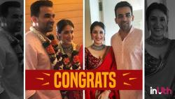 Zaheer Khan ties the knot with Sagarika Ghatge. See Pics