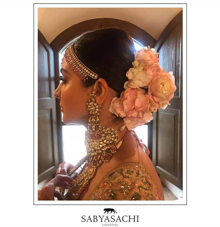 Anushka Sharma getting ready for her wedding