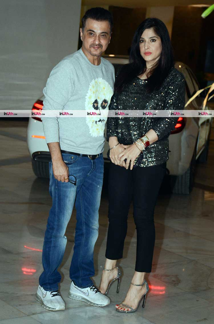Sanjay and Maheep Kapoor at Manish Malhotra's party