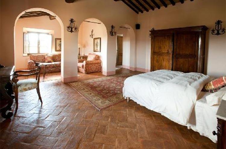 Borgo Finochietto has a total of 22 bedrooms