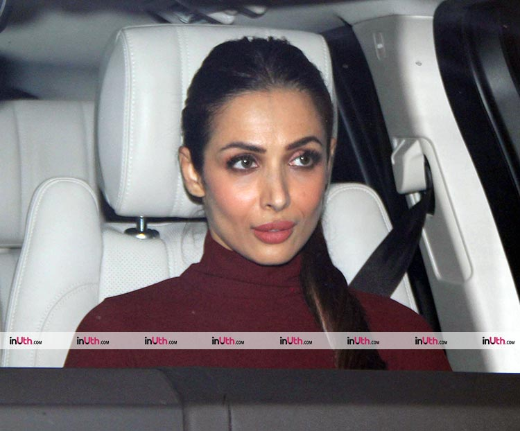 Malaika Arora at Karan Johar's Christmas party