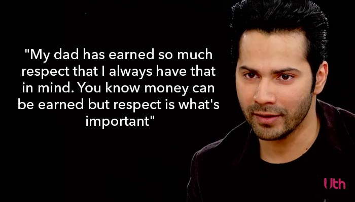 Varun Dhawan, Actors Roundtable