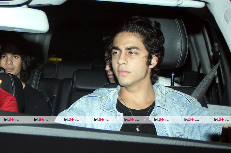 Aryan Khan at Karan Johar's Christmas party