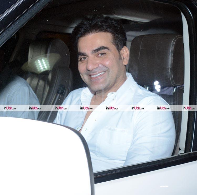 Arbaaz Khan at the special screening of Tiger Zinda Hai