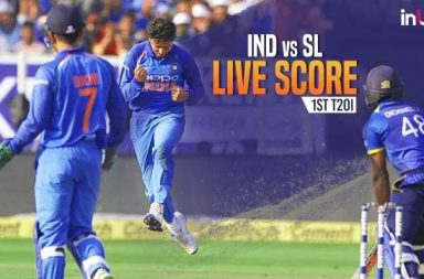 India v Sri Lanka 1st T20I