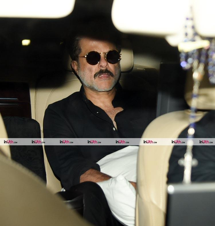 Anil Kapoor at the special screening of Tiger Zinda Hai