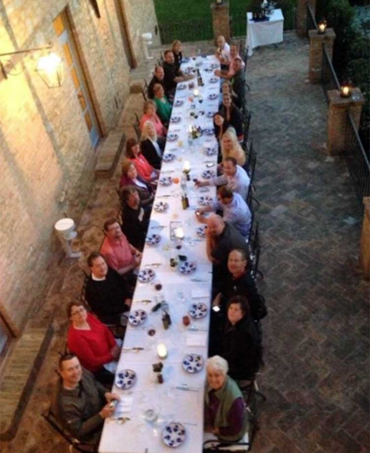 Borgo Finocchieto offers a great dining experience