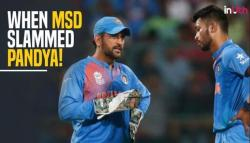 When Hardik Pandya got SCOLDED by MS Dhoni. Full story! — WATCH