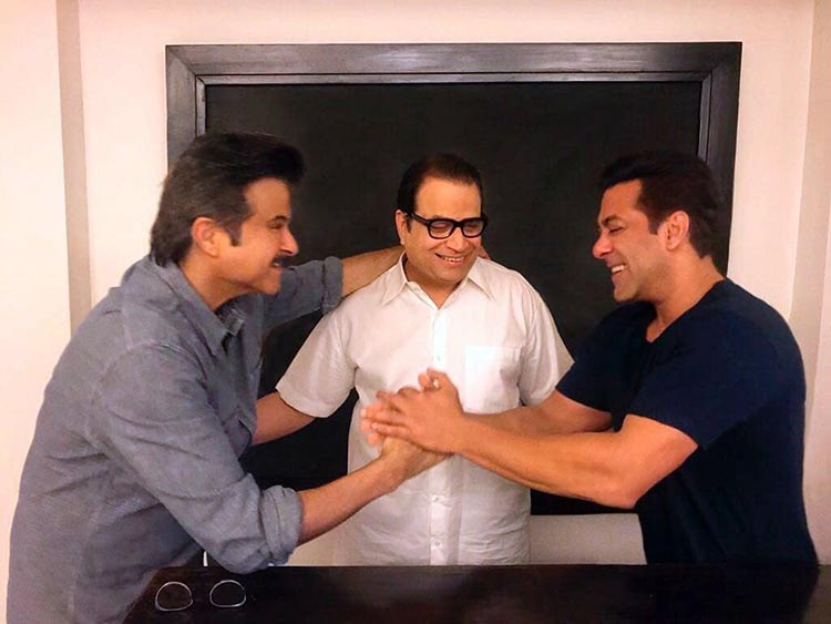 Anil Kapoor joins the Race 3 team