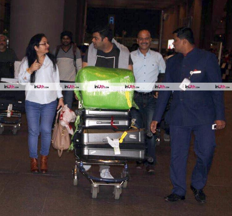 Anushka Sharma's family return to Mumbai post her Italian wedding