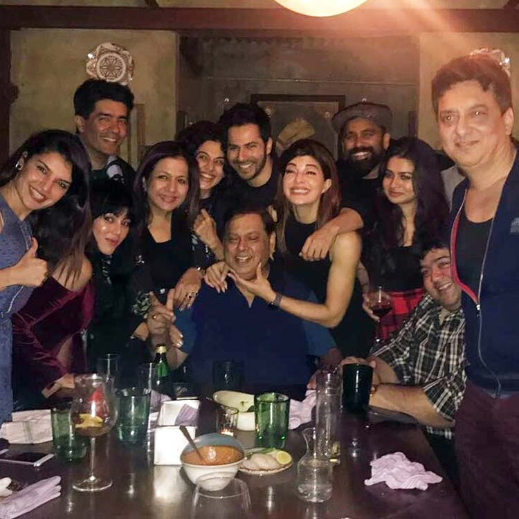 Manish Malhotra parties with Judwaa 2 team to celebrate it's success