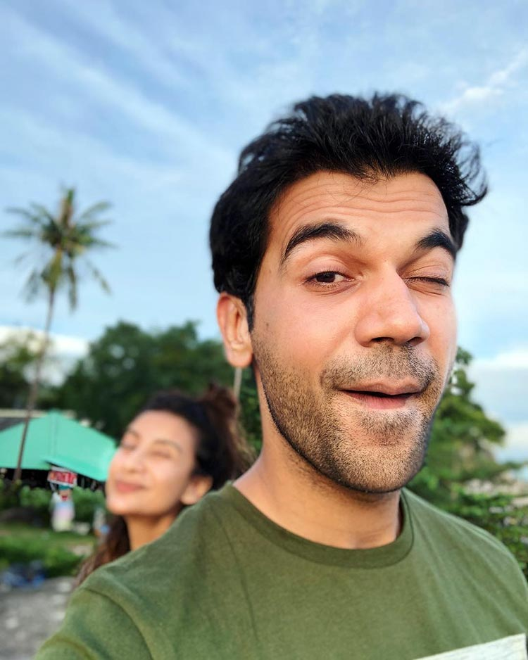 Rajkummar Rao in Thailand with girlfriend Patralekha