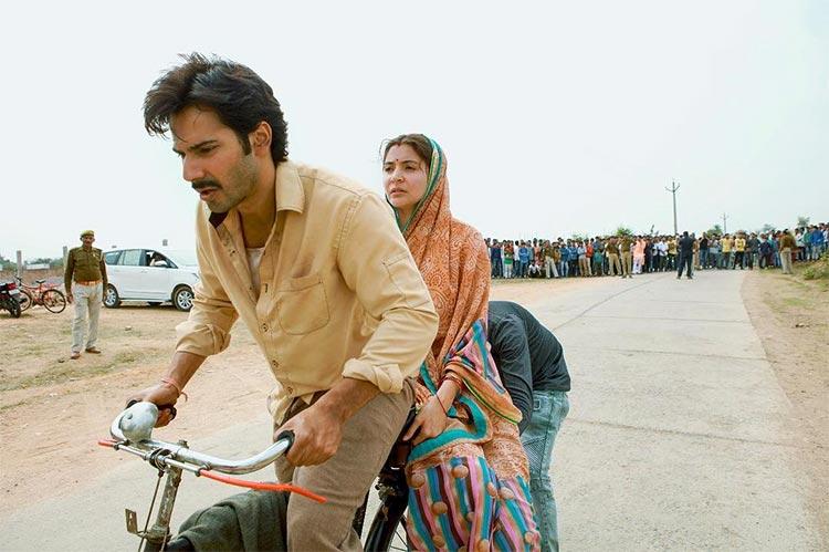 Varun Dhawan takes Anushka Sharma on a cycle ride for Sui Dhaaga