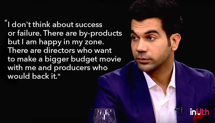 Actor's Roundtable, Rajkummar Rao