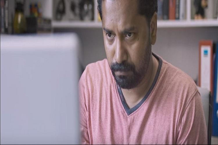 Jayprakash Radhakrishnan, Lens, Lens movie review, regional cinema, webcam, voyeurism