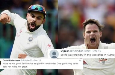 Virat vs Smith