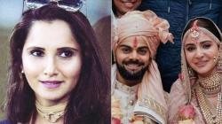 Sania Mirza knows why Virat-Anushka married 'secretly' in Italy