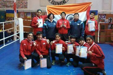 Indian junior female boxers make India proud in Ukraine, bag 8 medals including 4 GOLD