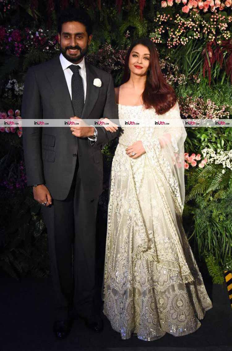 Abhishek Bachchan-Aishwarya Rai at Virat Kohli-Anushka Sharma's Mumbai reception