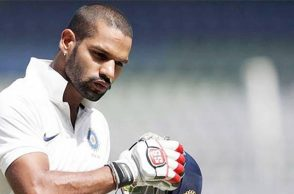 Shikhar Dhawan gets injured, likely to miss 1st Test against South Africa