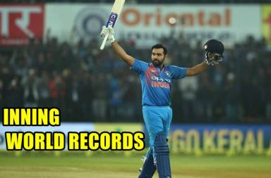 Rohit Sharma sets 3 world records during 2nd T20I against Sri Lanka. Here's the list