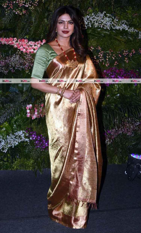 Priyanka Chopra at Virat Kohli-Anushka Sharma's Mumbai wedding reception